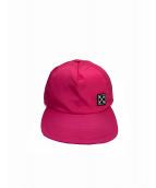 OFFWHITE(オフホワイト)の古着「キャップ」|ピンク