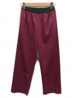 MM6(エムエムシックス)の古着「リラックスフィットパンツ」|ボルドー
