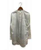COMME des GARCONS HommePlus(コムデギャルソンオムプリュス)の古着「ロングプリントシャツ」|ホワイト