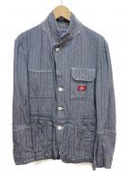 JUNYA WATANABE CDG × Dickies(ジュンヤワタナベコムデギャルソン × ディッキーズ)の古着「ヘリンボーンコットンカバーオールジャケット」