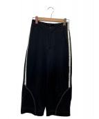 Y-3(ワイスリー)の古着「ワイドトラックパンツ」|ブラック