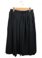 COMME des GARCONS(コムデギャルソン)の古着「レイヤードボリュームスカート」|ブラック