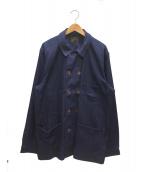 Muller & Bros(ミューラーアンドブロス)の古着「フレンチワークジャケット」|インディゴ