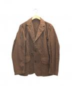 PHIGVEL MAKERS(フィグベルマーカーズ)の古着「ワークジャケット」|ブラウン
