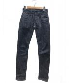 Denham(デンハム)の古着「レイザーリジットデニムパンツ」 インディゴ