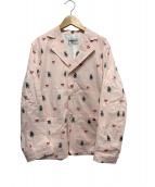 WEIRDO(ウィアード)の古着「FOLLIES - JACKET 」 ピンク