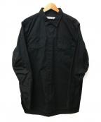 nonnative(ノンネイティブ)の古着「リップストップミリタリーシャツ」|ブラック