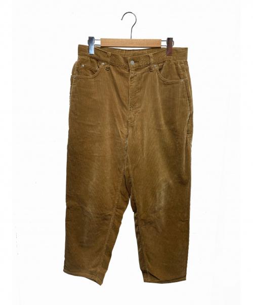 SSZ(エスエスゼット)SSZ (エスエスゼット) コーデュロイワイドパンツ ベージュ サイズ:S 11-21-0798-791の古着・服飾アイテム