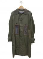 JUNYA WATANABE MAN(ジュンヤワタナベマン)の古着「ソーラーパネルコート」 オリーブ