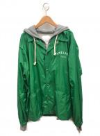 Maison Margiela 14(メゾンマルジェラ14)の古着「パッカブルジップパーカー」 グリーン
