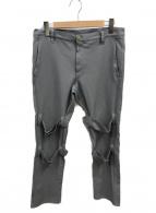 COMME des GARCONS SHIRT(コムデギャルソンシャツ)の古着「ボンテージパンツ」|グレー