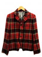 Vivienne Westwood man(ヴィヴィアンウエストウッドマン)の古着「テーラードジャケット」|レッド