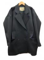 VIVIENNE WESTWOOD ANGLOMANIA(ヴィヴィアンウエストウッド アングロマニア)の古着「ボンディングコート」 ブラック