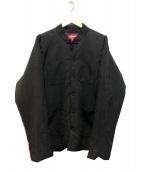 Supreme(シュプリーム)の古着「中綿カンフージャケット」|ブラック