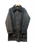 Barbour(バブアー)の古着「80's ヴィンテージボーダー」|ブラック