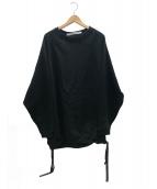 COGTHEBIGSMOKE(コグザビックスモーク)の古着「クルーネックスウェット」|ブラック