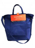 ACNE STUDIOS(アクネステュディオズ)の古着「ベイカーアウトトートバッグ」|ブルー