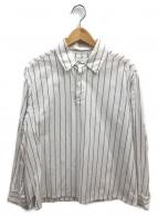 URU(ウル)の古着「コットンプルオーバーシャツ」|ホワイト