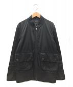 DIESEL BLACK GOLD(ディーゼルブラックゴールド)の古着「ジップブルゾン」|ブラック
