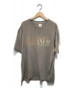 ()の古着「ブレステッドTシャツ」|グレー