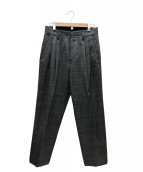 stein(シュタイン)の古着「タックパンツ」|グレー