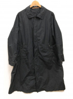 SCYEBASICS(サイベーシックス)の古着「高密度タフタバルカマーンコート」|ブラック