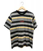 Supreme(シュプリーム)の古着「ボーダーTシャツ」|グレー