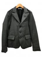 Maison Margiela(メゾンマルジェラ)の古着「中綿テーラードジャケット」|グレー