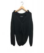 YS for men(ワイズフォーメン)の古着「ニットジャケット」 ブラック