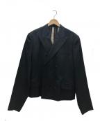 Jean Paul Gaultier homme(ジャンポールゴルチェオム)の古着「ダブルジャケット」 ブラック
