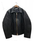 Schott(ショット)の古着「レザースポーツジャケット」 ブラック