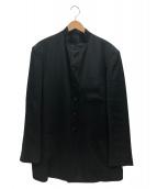 YS for men(ワイズフォーメン)の古着「マオカラージャケット」|ブラック