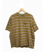 stussy()の古着「ポケットTシャツ」|ベージュ