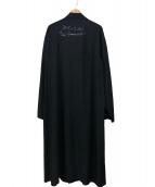 YohjiYamamoto pour homme(ヨウジヤマモトプールオム)の古着「タキシードスタンドフォールカラーシャツコート」|ブラック