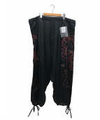 YohjiYamamoto pour homme(ヨウジヤマモトプールオム)の古着「As02 Revised G-Sarouel pants」|ブラック