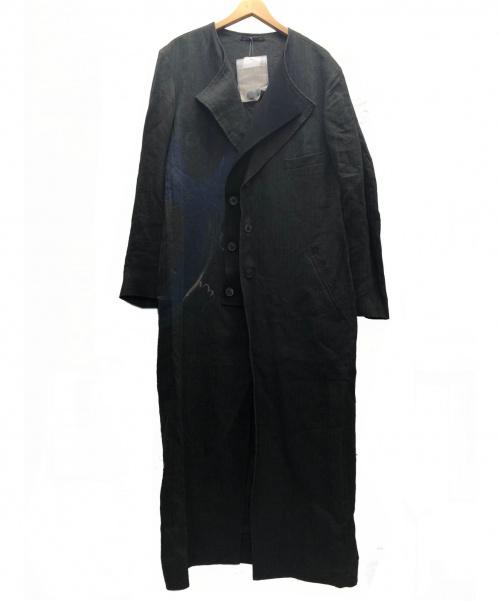 YohjiYamamoto pour homme(ヨウジヤマモトプールオム)YohjiYamamoto pour homme (ヨウジヤマモトプールオム) P二重上前ロングドレス グレー サイズ:3 未使用品の古着・服飾アイテム