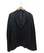 YohjiYamamoto pour homme(ヨウジヤマモトプールオム)の古着「ウールギャバダブルレイヤードジャケット」|ブラック