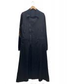 YohjiYamamoto pour homme(ヨウジヤマモトプールオム)の古着「ダブルライダースロングフレアドレス」|ブラック