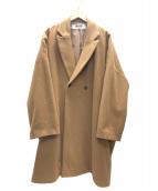 BASISBROEK(バージスブルック)の古着「ウールチェスターコート」|ブラウン