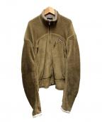 Patagonia()の古着「アールフォージャケット」|カーキ