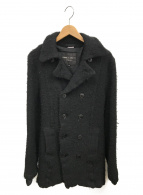 COMME des GARCONS HommePlus(コムデギャルソンオムプリュス)の古着「ウール縮絨コート」|ブラック