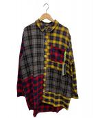 PAM(パム)の古着「ブライトチェックマルチ」|マルチカラー