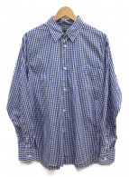 COMME des GARCONS HOMME(コムデギャルソンオム)の古着「ギンガムチェックシャツ」 ブルー