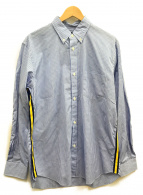 COMME des GARCONS HOMME(コムデギャルソンオム)の古着「ラインシャツ」 ネイビー
