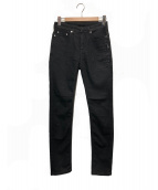 NEIL BARRETT(ニールバレット)の古着「スキニーデニムパンツ」|ブラック