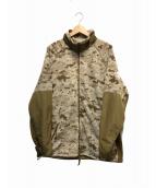 ()の古着「ポーラテックフリースジャケット」|デザートデジタルカモ
