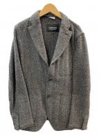 COMME des GARCONS HOMME DEUX(コムデギャルソンオムドゥ)の古着「3Bジャケット」|ダークブラウン