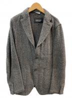 COMME des GARCONS HOMME DEUX(コムデギャルソン オム ドゥ)の古着「3Bジャケット」|ダークブラウン