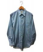 RRL(ダブルアールエル)の古着「シャツ」|ネイビー