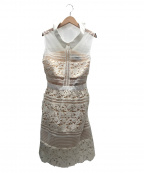 SELF PORTRAIT(セルフ ポートレイト)の古着「グラシエラドレス」|ベージュ